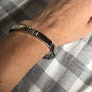 LOFT Silver Bangle Bracelet
